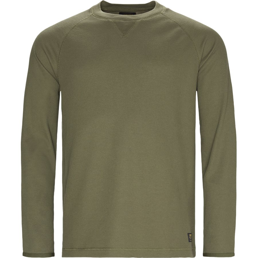 L/S LEEWARD I025152 - L/S Leeward - T-shirts - Regular - ROVER GREEN - 1